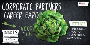 Squash Your Fears…Here is Everything You Need To Know About the Corporate Partners Career Expo thumbnail image