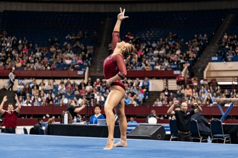 Maddie Karr (Courtesy: Brittany Evans, Denver Athletics)