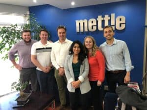 PMBA students at Mettle solar company